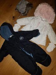 Kinder WinterJacke Wintermütze und Overall