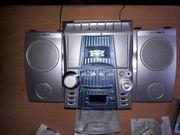 Stereoanlage Clatronic CD Kassette Radio