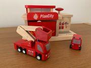Plan Toys Feuerwehr Station