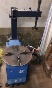 Montiermaschine für Reifen