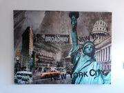 Bild auf Leinwand New York