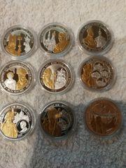 Papst Münzen Benedikt VXI günstig