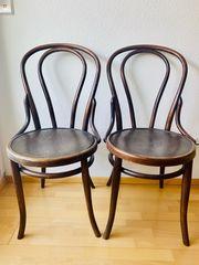4 echte Wiener Kaffeehaus Stühle