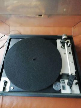 Plattenspieler, Tonband - HiIFI Plattenspieler mit Magnetsystem DUAL
