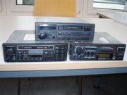 Autoradio-Cassetengeräte