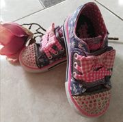 Skechers twinkle toes Daisy Dotty