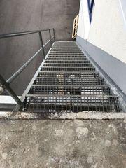 Außentreppe ca 6 5 Meter