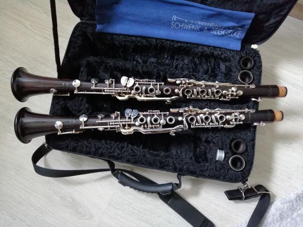 Schwenk und Seggelke Klarinettensatz