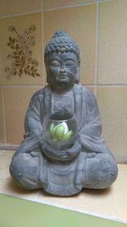 Deko Skulptur Dekoration Buddha Mönch