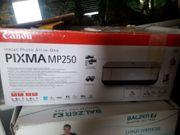 Canon PIXMA MP250 Drucker Neu