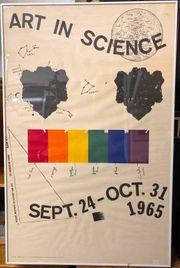 Altes Ausstellungs Plakat Jim Dine