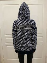 Christian Dior Reversible Cashmere Hoodie