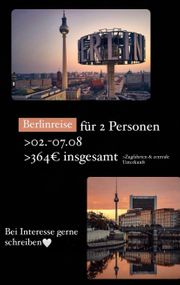 Berlinreise für 2 Personen