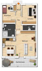 Zu Vermieten Schöne 3-Zimmer-Neubau-Wohnung in