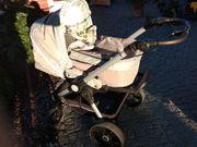 Kinderwagen Teutonia BeYou Farbe Moonstone