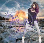 Selena Gomez in Island Kunstdruck