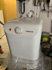 Boiler oder Waschbecken