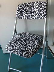 Leoparden -Klappstuhl
