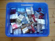 Zigarettenschachteln leer für z B