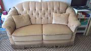 Sofa Beige 50er 60er Vintage -