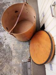 Transportbehälter rund Sperrholz ohne Zwischenböden