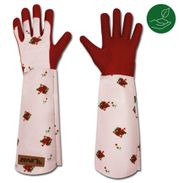 Rosenhandschuhe Gartenhandschuh Rosen lange Stulpe