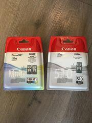 druckerpatronen Canon 510 und 512