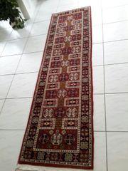 Läufer Teppich Orient Perser Flur Teppichläufer Orient Perser in Braun Kurzflor