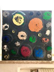 Tone Fink Gemälde 50x50cm 2007