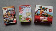 NEU 3 Lernspiele Reisespiele Alvin