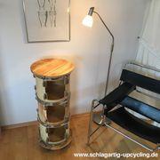 Upcycling Rollcontainer aus alten Trommeln
