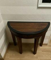 Tisch Halbrund Wandtisch Halbtisch Beistelltisch