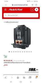 Jura WE6 Kaffeevollautomat Piano Black