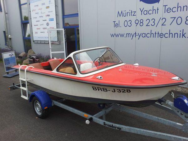 Motorboot Trainer 25 PS Mercury