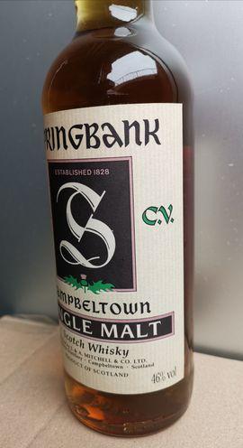 Essen und Trinken - Whisky Springbank alte abfüllung