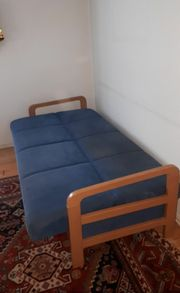 Schlafsofa Klappsofa Couch Gästebett Sofa