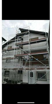 Fassadengerüst Baugerüst günstig mieten
