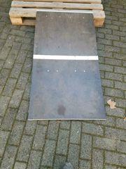 Rampe für 1-2 Stufen klappbar