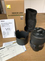 Nikon AF-S VR Micro-Nikkor 105