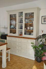 Buffet Küchenschrank Vitrine Landhausstil -