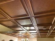 Holzpaneele für Zimmerdecke