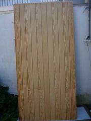 Profil-Sperrholz-Platten senkrecht und diagonal genutet