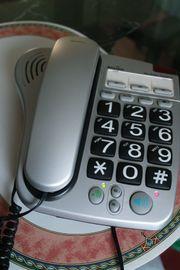 Senioren-Telefon mit großen Tasten inkl