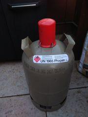 Propangasflasche Campinggas Grillgas grau 11kg
