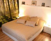 Bettgestell Sockel Bett weiß 90x200