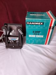 Super-8-Schmalfilmkamera und Movie-Editor Hanimex