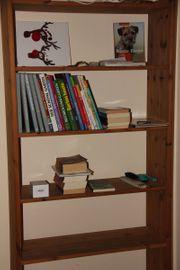 Bücherregal Kiefer Massiv