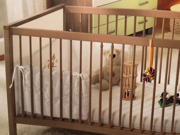 PAIDI Baby Kinderbett mit Umbausatz