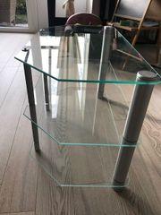 TV Tisch aus Glas sehr