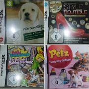 Nintendo DS Spiele verschiedene